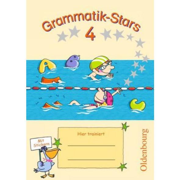Grammatik-Stars 4. Schuljahr. Übungsheft