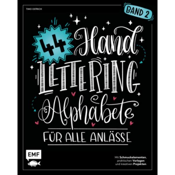 Handlettering 44 Alphabete - Für alle Anlässe - Ba