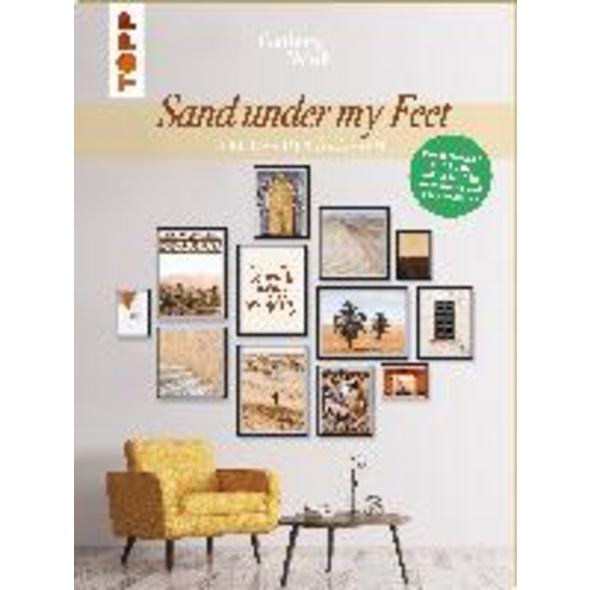Gallery Wall  Sand Under My Feet . 12 Bilder in 4