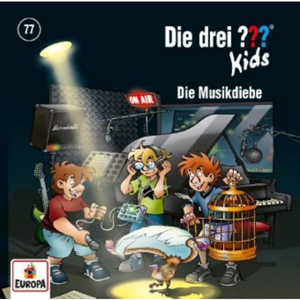 Die drei ??? Kids 77: Die Musikdiebe