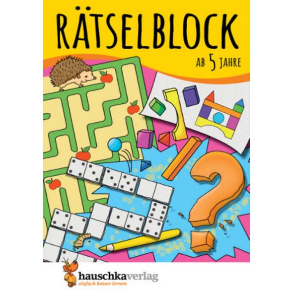 Rätselblock ab 5 Jahre, Band 1, A5-Block