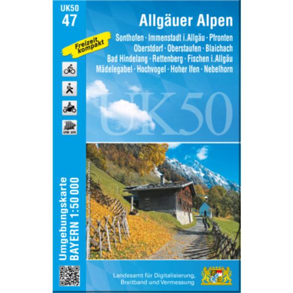 Allgäuer Alpen 1:50 000  UK50-47