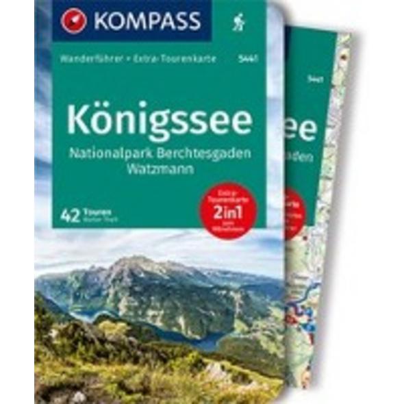 KOMPASS Wanderführer Königssee, Nationalpark Berch