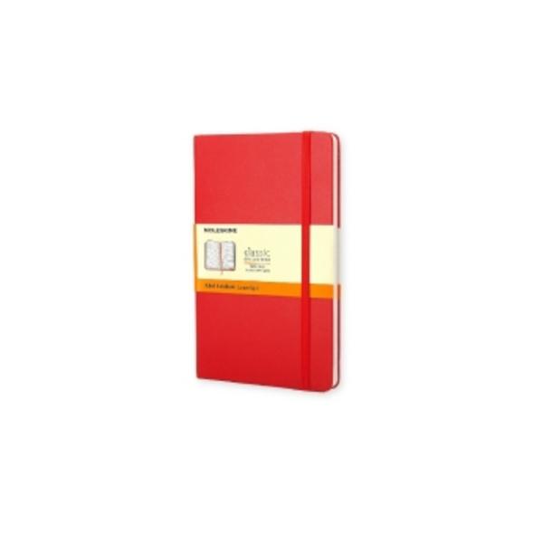 Moleskine Notizbuch liniert Pocket DIN A6 rot