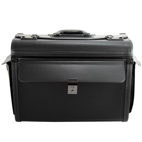 d & n Pilotenkoffer 2879 36cm schwarz