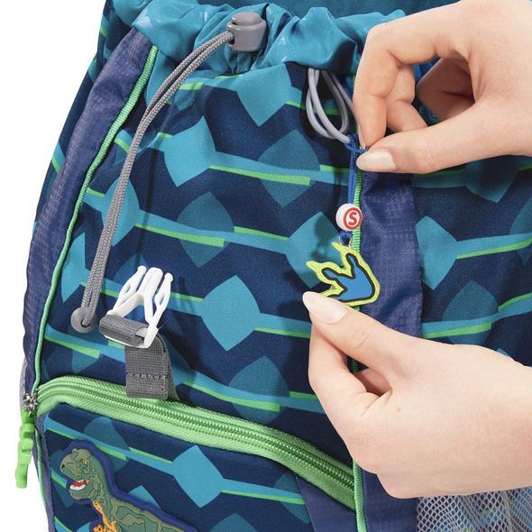 Step by Step Kinder Rucksack Set 3-tlg. Kid 13l Schleich T-Rex