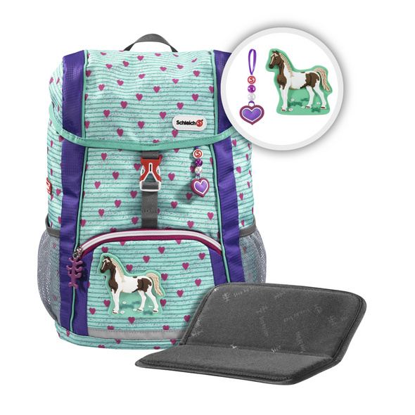 Step by Step Kinder Schleich-Rucksack Set 3-tlg. Kid 13l horse club