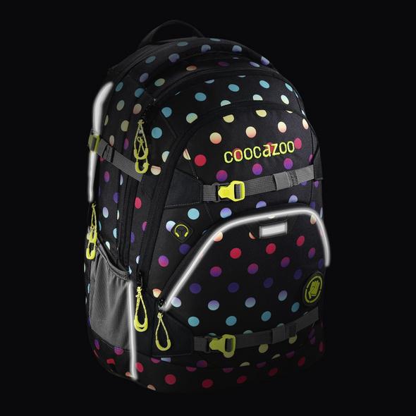 coocazoo Schulrucksack ScaleRale magic polka colorful