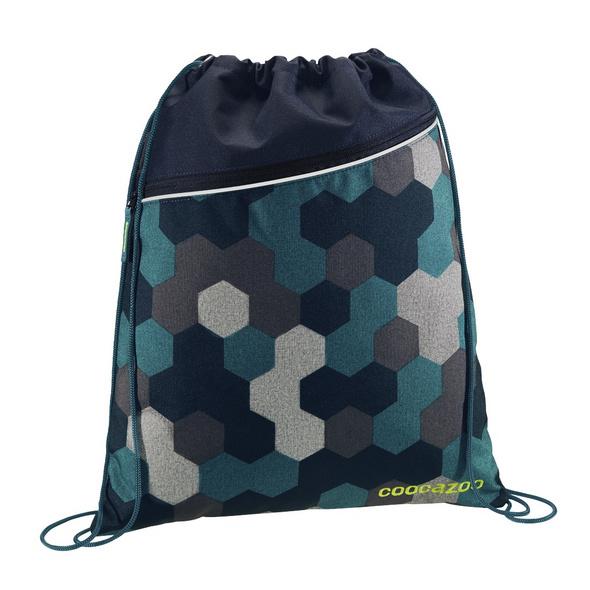 coocazoo Turnbeutel RocketPocket blue geometric melan