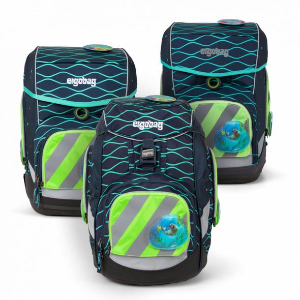 Ergobag Universal Sicherheitsset Reflektorstreifen Pack, Cubo, Cubo Light (ab 2020) grün