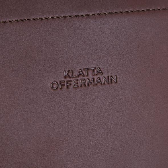 Klatta Shopper Workbag Foldtop schwarz