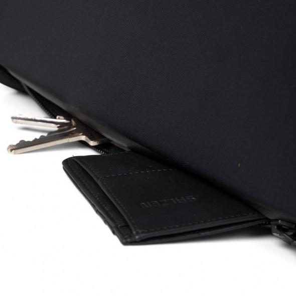 "Salzen Laptoprucksack Redefined Classic Sleek Line 15,6"" phantom black"
