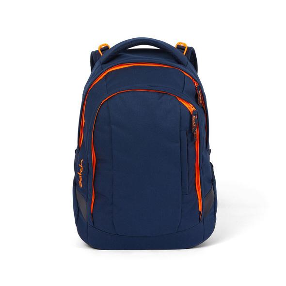 Satch Schulrucksack Sleek 24l toxic orange