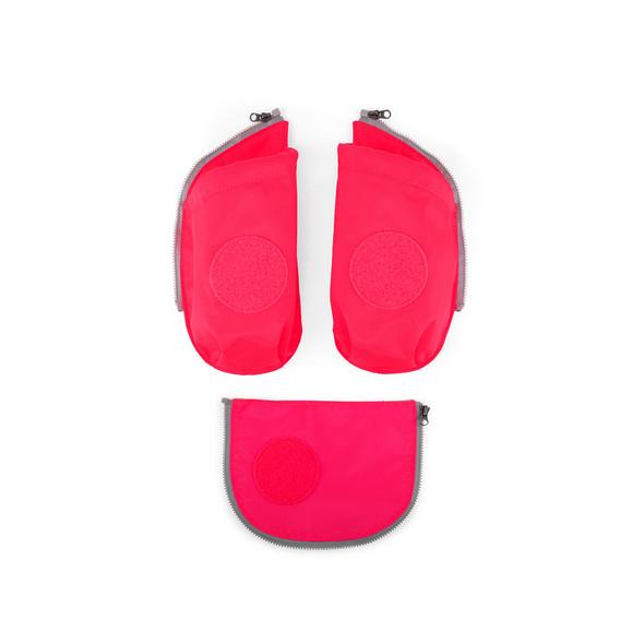 Ergobag Seitentaschen Cubo 3tlg. pink