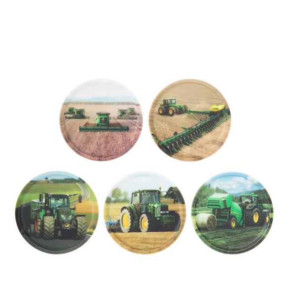 Ergobag Klettie-Set 5tlg. Landmaschinen