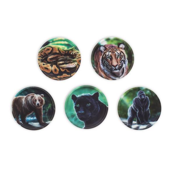 Ergobag Klettie-Set 5tlg. Dschungel