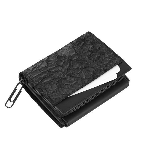 Klatta Portmonee Damen Flap Wallet offwhite paper