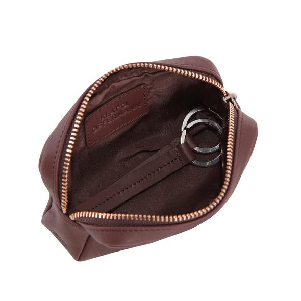 Klatta Offermann Schlüsseletui Keycase maroon brown