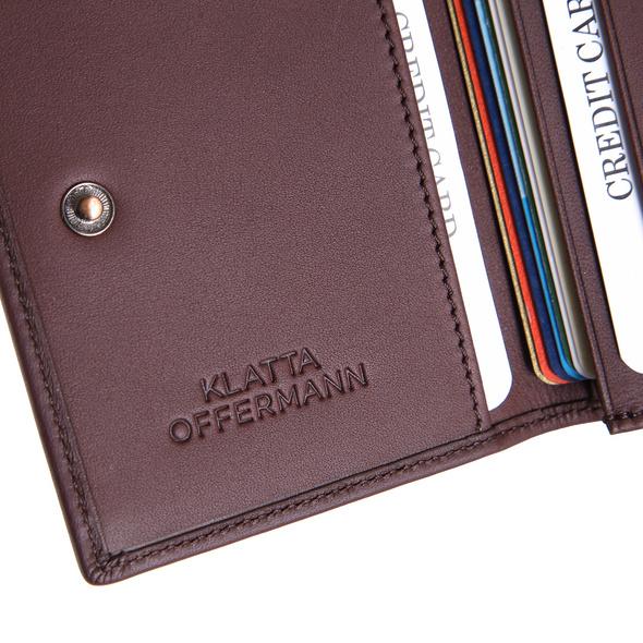 Klatta Offermann Kreditkartenetui Card Wallet schwarz