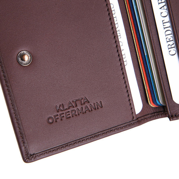 Klatta Offermann Kreditkartenetui Card Wallet taupe