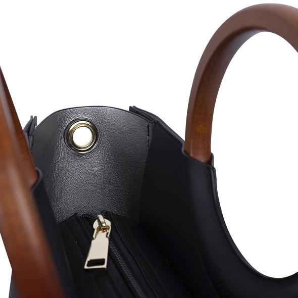 Inyati Kurzgriff Tasche Viviana black