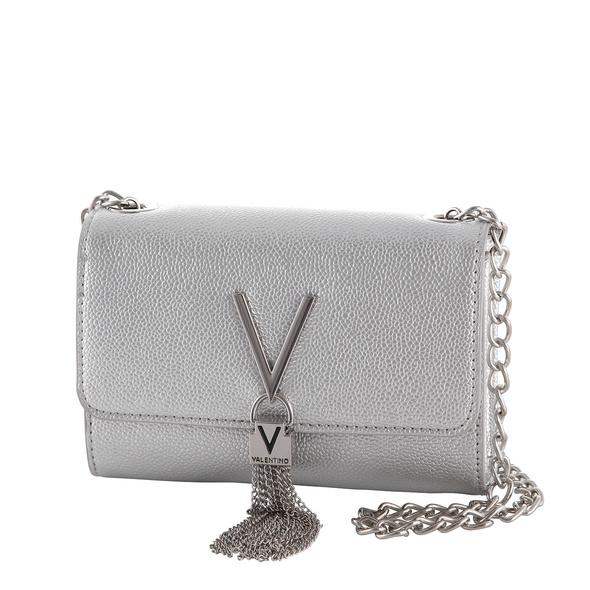 Valentino Bags Umhängetasche Divina argento