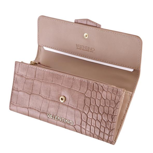 Valentino Bags Langbörse Damen Wallet Platz moro