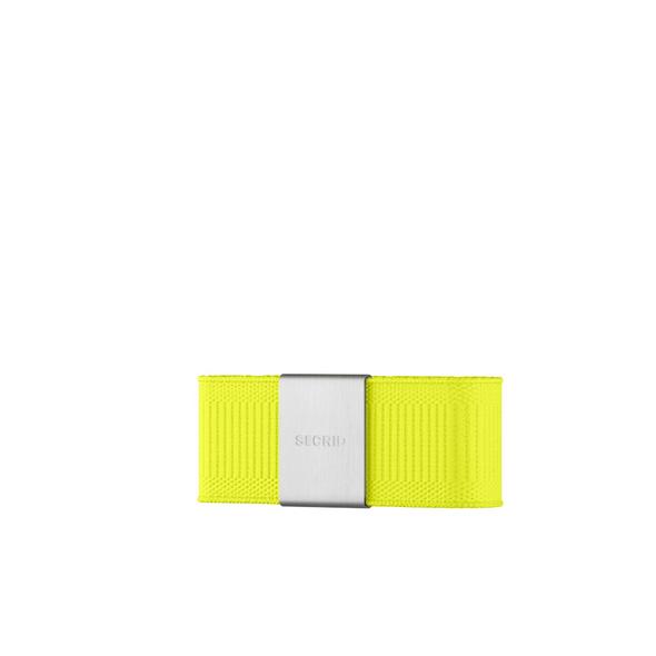 Secrid Kreditkartenetui Moneyband neon yellow