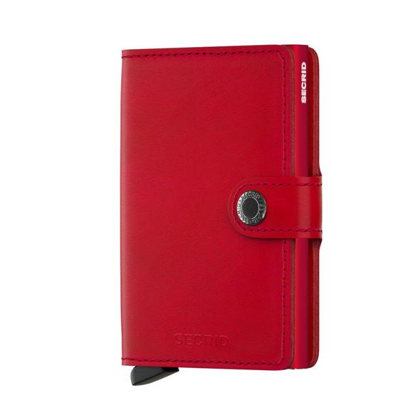 Secrid Kreditkartenetui Miniwallet original red-red