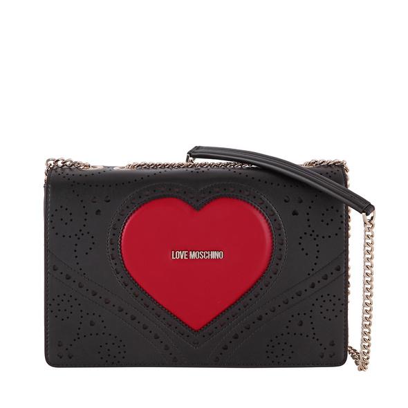 Love Moschino Abendtasche JC4216 nero/rosso