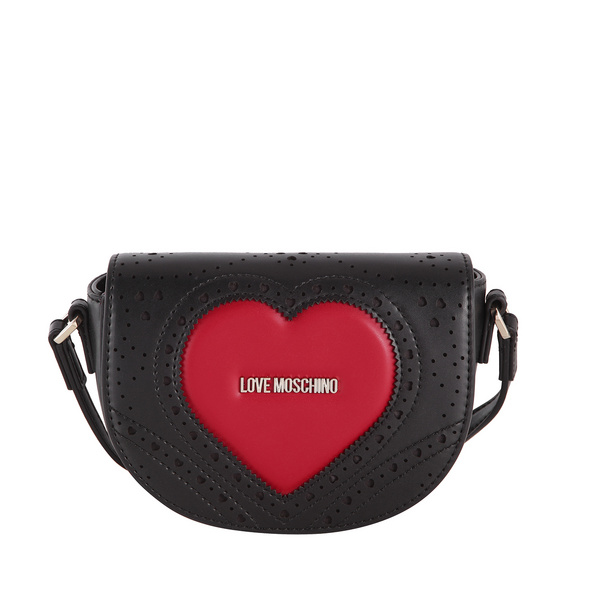 Love Moschino Abendtasche JC4217 nero/rosso