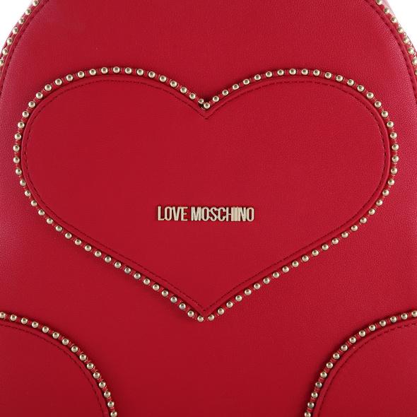 Love Moschino Damen Rucksack JC4248 mittelrot