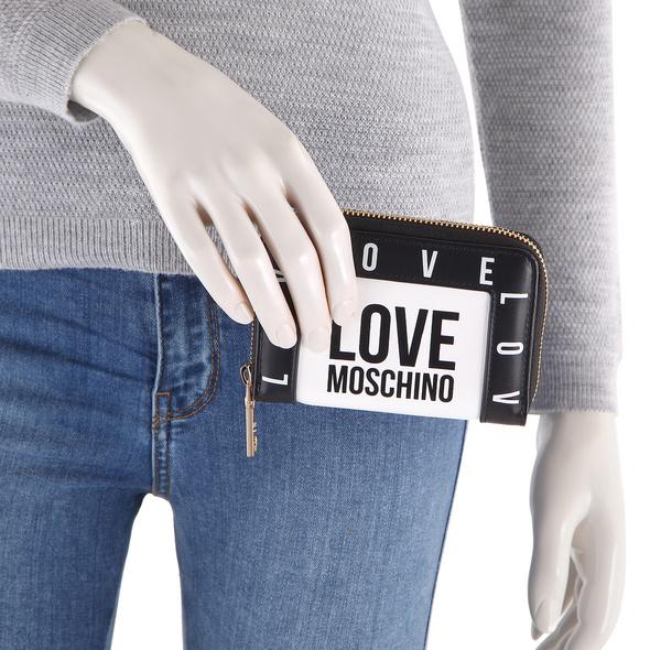 Love Moschino Kleinbörse Damen JC5642 weiß