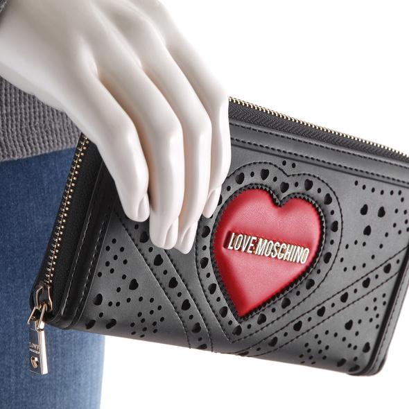 Love Moschino Langbörse Damen JC5624 schwarz