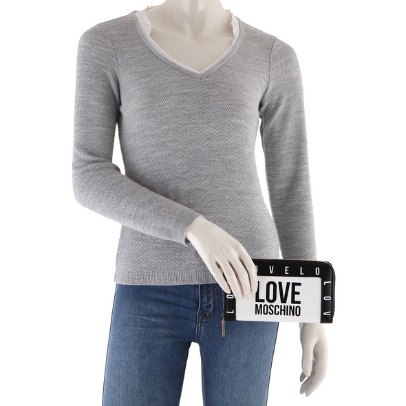 Love Moschino Querbörse Damen JC5640 weiß