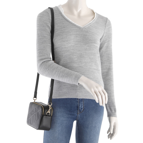 Versace Jeans Couture Umhängetasche Linea A DIS. 5 schwarz