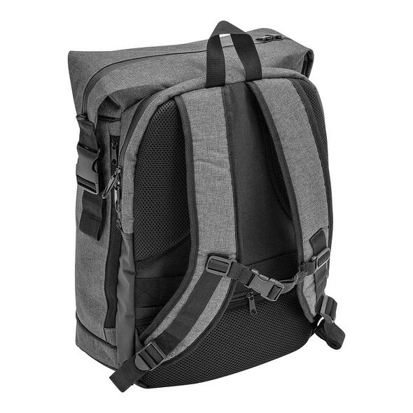 """Wedo Laptop Rucksack College Courier 15"""" dunkelgrau"""