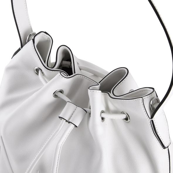 Calvin Klein Beuteltasche NY Shaped Drawstring MD black