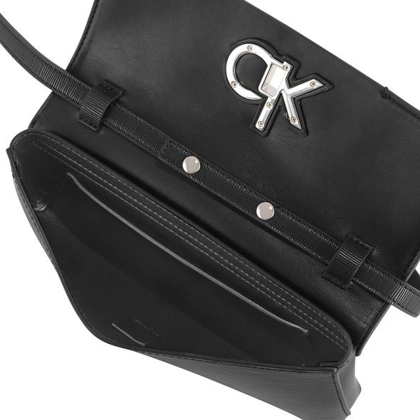 Calvin Klein Abendtasche Re-Lock Clutch MD EP black