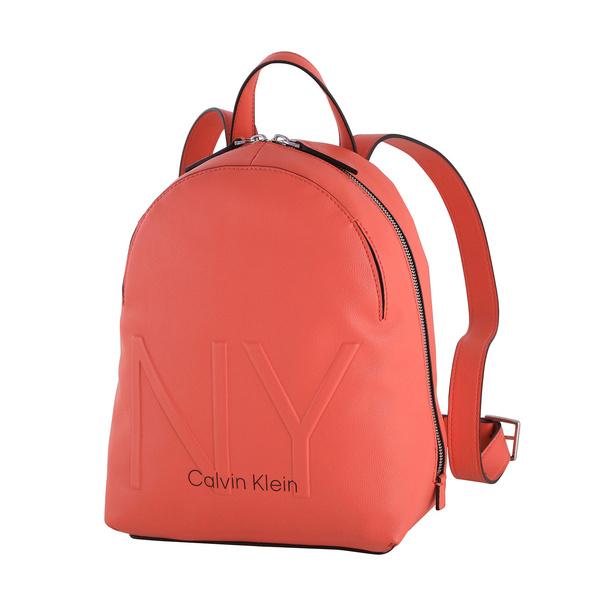 Calvin Klein Damenrucksack NY Shaped SM coral