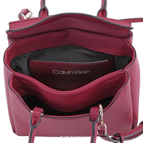 Calvin Klein Kurzgrifftasche Worked SML Tote tibetan red