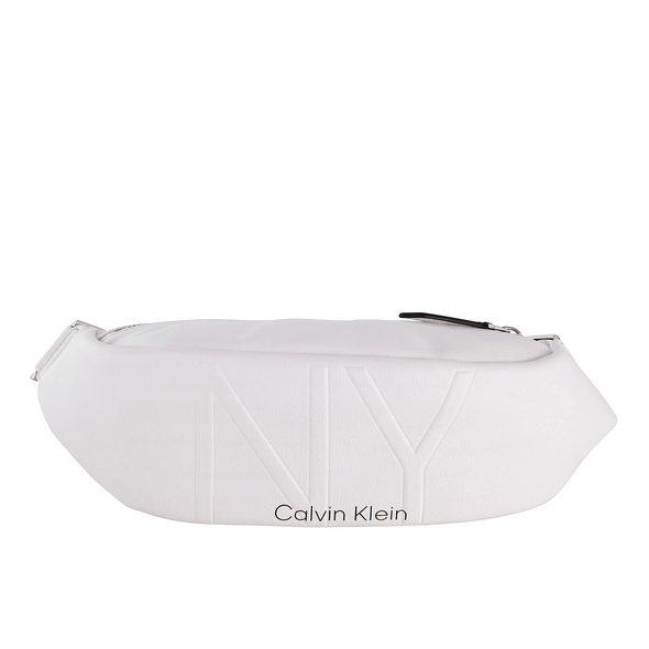 Calvin Klein Bauchtasche NY Shaped Waistbag MD white