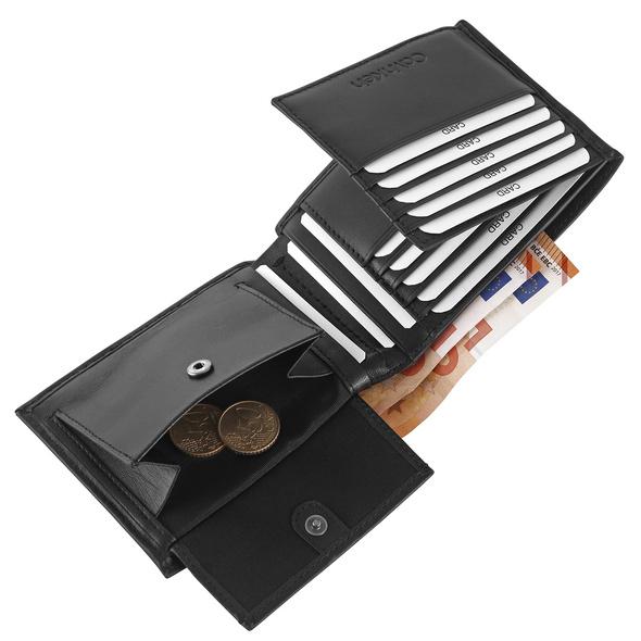 Calvin Klein Querbörse Herren Trifold 10CC W/Coin black