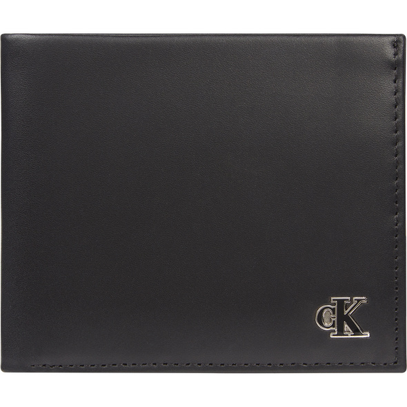 Calvin Klein Querbörse Herren Bifold W/Coin black