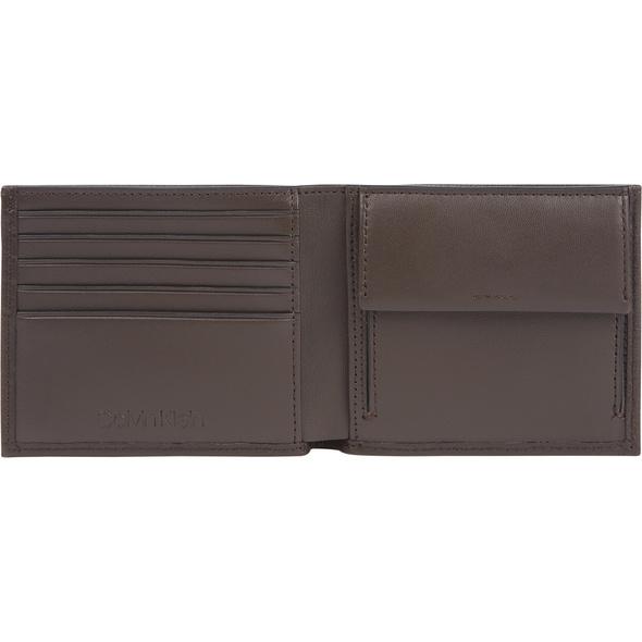 Calvin Klein Querbörse Herren Bifold dark brown