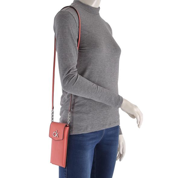 Calvin Klein Handy Hülle Re-Lock Phone Pouch coral
