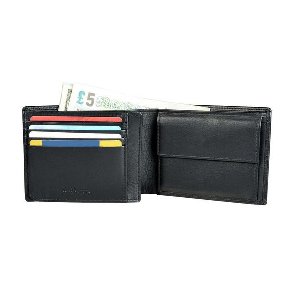 Cross Geldbörse RTC RFID in Geschenkbox 8CS schwarz