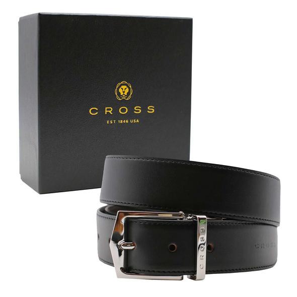 Cross Wendegürtel Herren Maestro S4 selbstkürzbar schwarz+braun