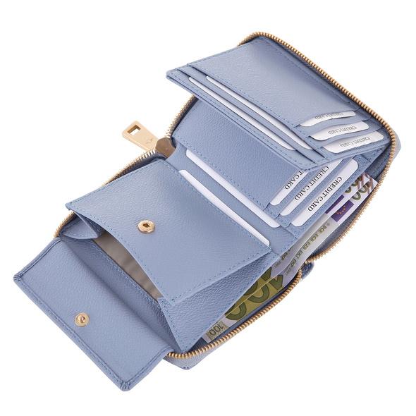 Joop Hochkantbörse Damen Cortina Nisa Purse MH8Z blue