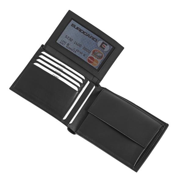 Joop Geldbörse Herren Soft Leather Typhon BillFold H9 black